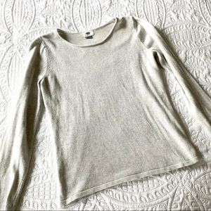 Simple Light Gray Sweater - Old Navy
